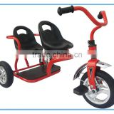 Children Tricycle for twins for sale factory price good qality