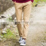 custom wholesale Twill Welt Pocket casual trousers khaki chino mens pants