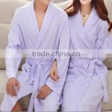 High quality couples waffle bathrobe,100 cotton bathrobe foe couple,white waffle ladies dressing gown