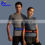 battery control LED flashing reflective flip belt running safety warning belt