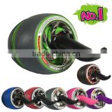 Bodybuilding Product double funcition AB Roller exercise wheel