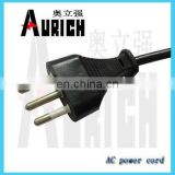 PVC Insulation Material and Stranded Conductor Type waste electric wire with hollow brass pin plug