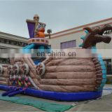 AOQI fashion design outdoor plastic pirate ship toys/Inflatable bouncer