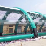 HOT air tight giant inflatable structure tent with netting
