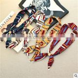 New Fashion Wrapped Bags Scarves Tied All-match Department Handle Small Silk Scarves Lady Ribbon Scarf