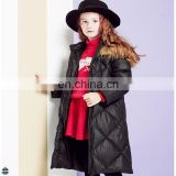 T-GC021 Cheap Cotton Poly Filly Girls Winter Coat 2016