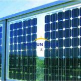 High Transparency 156*156mm Solar cells 280W BIPV Monocrystalline Solar Panel with Double Glass