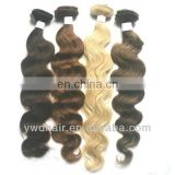 Bosin Brazilian hair weave blonde and brown color