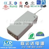 shenzhen LYD 12V 5A power adapter for 120V AC to 12V DC car refrigerator power supply with UL approved