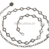 Fashion stone chain belts for woman dressing