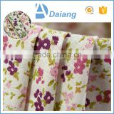 new product cheap small flower custom wholesale printed cotton fabric for bed sheet in roll