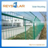 steel security Solar Mounting fence/ Solar PV Farm Fence Steel Wire Guard