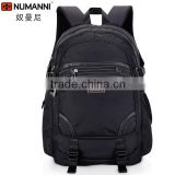 2014 popular hot selling waterproof nylon cool black nylon branded backpack beach chair