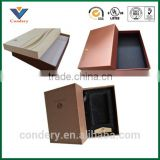 Custom colorful box packing clear shoe box bag in box                                                                         Quality Choice