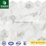 Calacatta Gold Polished Marble Mosaic ceramic tile floor china porcelain tile adhesive wall tiles