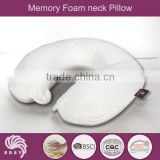 The greatest and comfortable memory foam neck pillow with cooling gel