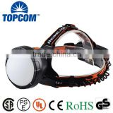 Mining 5000lm Headlamp LED Plastic Lampshade Rechargeable Headlamp