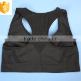 Custom made breathable wholesale sports bra, women's sports bra with printed
