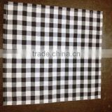 High Quality cotton Checkerd color woven flannel cleaning cloth duster cloth Table Cloth Dish Towel Hand Towel wholesale