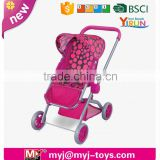 stroller factory direct sell doll buggy with en71 baby doll umbrella stroller baby doll stroller with carrier DS024700