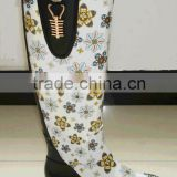 Fashion rubber boots wholesale