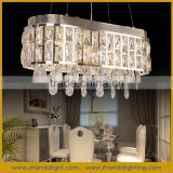 house decoration crystal Hanging Lighting Modern Smart chandeliers pendant lights D069/8+3