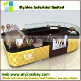 Commercial cookies kiosk design in mall for Westfield mall center cookies kiosk design in mall