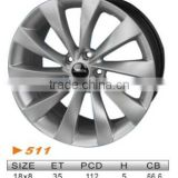"alloy wheel,VW 18""x8 511"