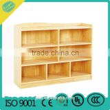 preschool supermarket storage children role play furniture classroom Wooden bookcase