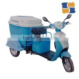 High efficient lead-acid battery garbage tricycle food transportation tricycle food cart