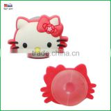 Soft PVC accessories buckle for shoe, plastic shoe decorations