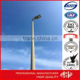 12-20m single arm LED High Mast steel Lighting Pole for UAE Dubai highway