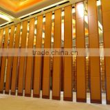 china manufacturer aluminium high quality sliding wall panels for convention&exhibition centre