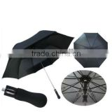 Auto open single fold promotion golf umbrella
