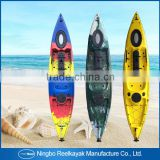 Excellent one person sit on top fishing kayak and canoe and kayak sail