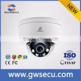 GWSECU SONY178 ip camera ture WDR 120DB poe Super Low Lux super clear image Black glass color image in alltime