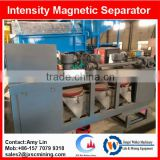 3pcs disc belt type dry magnetic separator in wolfram processing plant