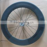 MeyerGlobal 700C carbon track bicycle wheelset tubular clicnher 88mm carbon fixed gear rear wheel