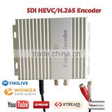 discount h.265 hevc encoder for iptv hd sdi input