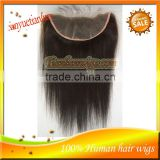 Wholesale 12Inch 100% Brazilian Virgin Remy Human Hair Top Lace Frontal,Lace Front Closure Piece