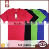 wholesale custom promotional cotton cheap safety reflective t-shirt