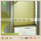 Non-woven lace pleated window blinds pleated blind curtain