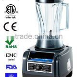 1.85L/2L work top type push button control type high speed professional COMMERCIAL FRUIT BLENDER