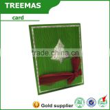 Wholesales custom Green elegant royal greeting card printing,wedding invitation card                                                                         Quality Choice