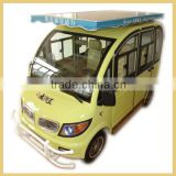 Fancy 4 seater passenger electric car & vehicle for sale solar power (48V 1000W)                                                                         Quality Choice