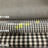 Ready bulk for 98%cotton 2%spandex yarn dyed gingham check fabric for garment,dress and shirt