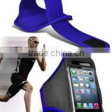for phone sport armband hot selling light blue color