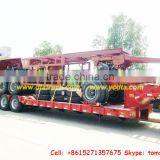 heavy duty military truck lowboy Trailer 2 /3/4 axle Lowboy,lowbed semi trailer factory price sale Tom:86-15271357675