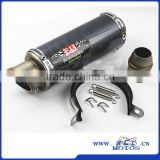 SCL-2016040087 51mm Universal Carbon Fiber Motorcycle Modified Scooter Yoshimura Exhaust Muffle Pipe GSXR CBR250 CB400 CB600 YZF                                                                         Quality Choice