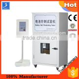 Servo Motor Driven Battery Safety Puncture Testing Machine with Removable Controller for Cylindrical and Prismatic Battery